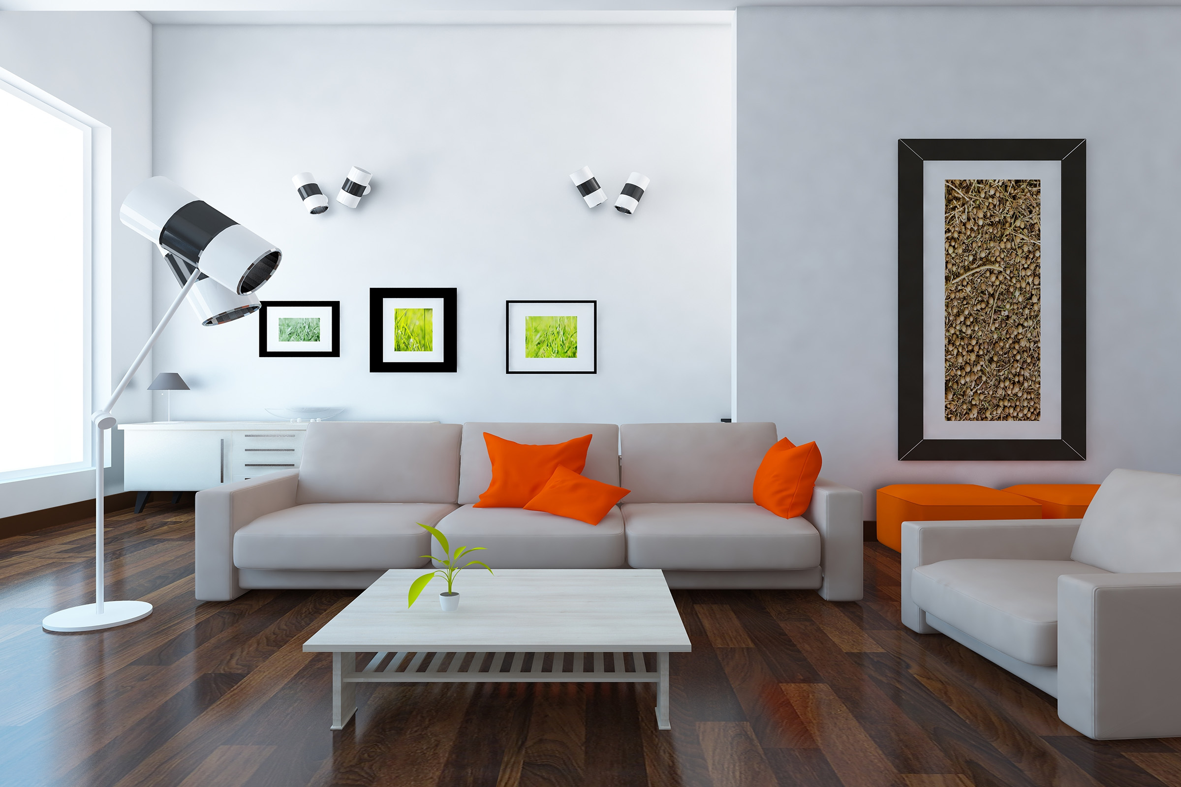livingroom-white-room-orange-pillows